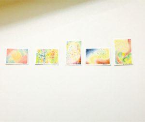 共感覚アート 3色パステルアート