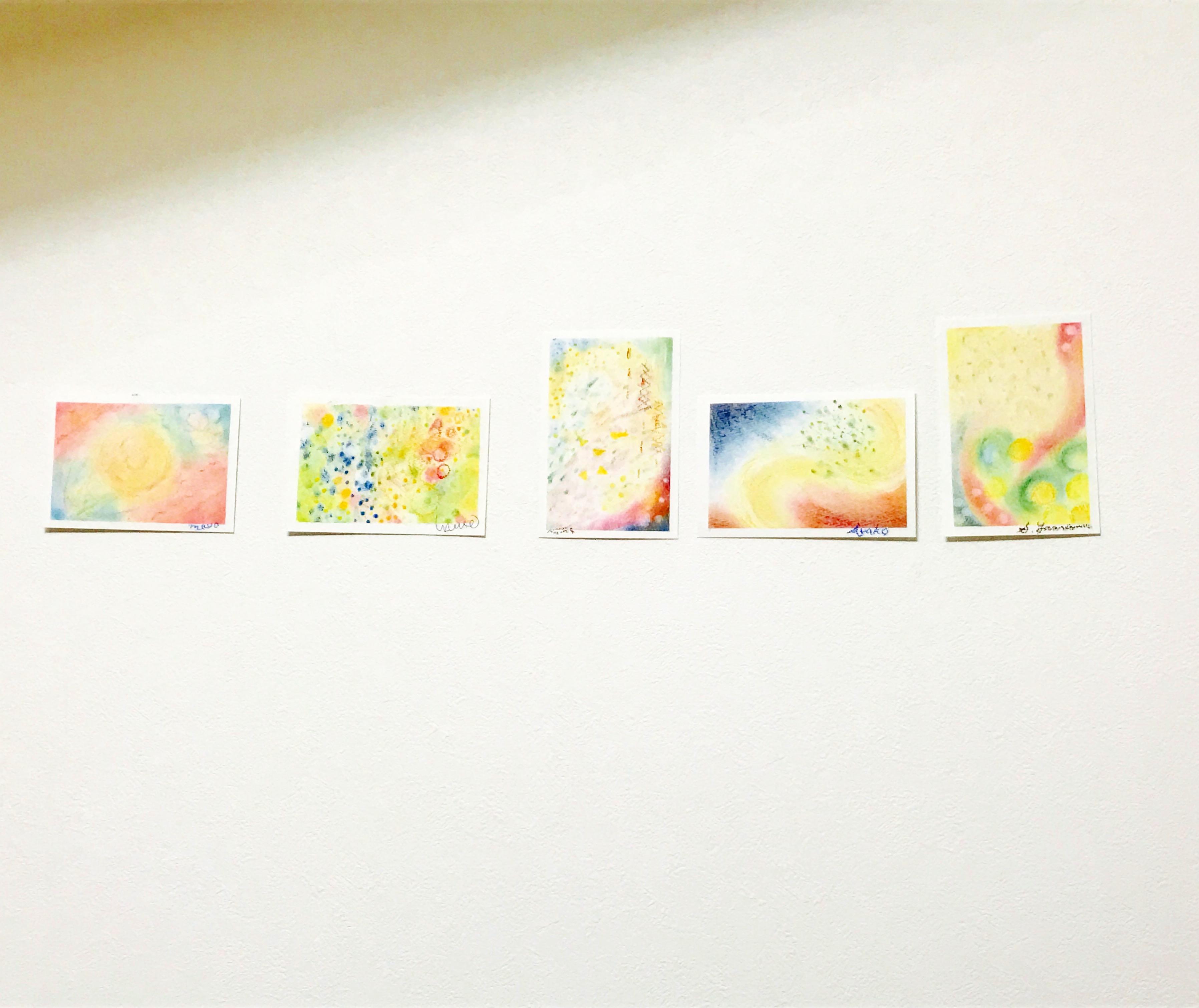 パステルアート,3色パステルアート,パステル画,共感覚,共感覚アート,五感