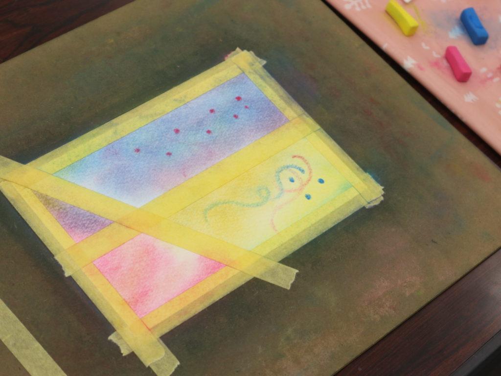 3色パステルアートインストラクター資格認定講座授業風景2
